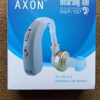 alat bantu dengar hearing aid axon f-137