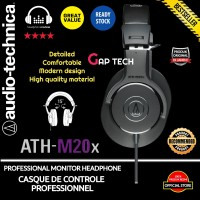 Audio Technica ATH-M20x / ATH M20X Professional Monitor Headphones