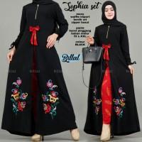 Sophia set baju wanita muslim dewasa remaja cantik modis kekinian