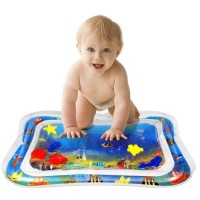 Matras air bermain main bayi anak Baby Kids Water Play Mat playmat