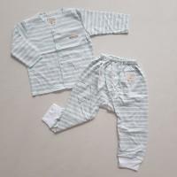 CHIYO Setelan Baju Bayi Lengan Panjang S,M,L - Misty Stripe