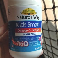 Natures Way Kids smart Omega 3 DHA TRIO