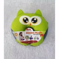 Bantal menyusi print owl - dialogue baby Murah
