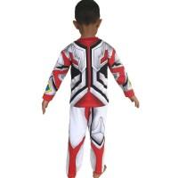 Promo Baju Anak Kostum Topeng Superhero Ultraman Go