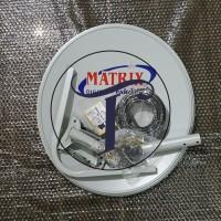 HOT SALE Set Antena Dish Parabola Matrix 45 cm Terjamin