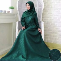 baloteli maxi gamis embos muslim fashion