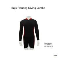 Baju Renang Jumbo Model Diving Tangan Panjang - BSP-JB07