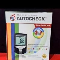 Alat Auto Check 3 In 1 GCU / Gula Darah-Asam Urat-Kolestrol