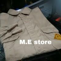 baju atasan - seragam - kemeja pdl pembina pramuka