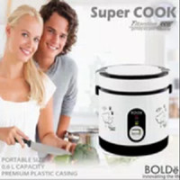 Super Cook Rice Cooker Mini BOLDe - ORIGINAL