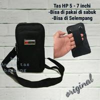 TAS HP 5 - 7 INCHI-TAS SELEMPANG KECIL-TAS PINGGANG-SARUNG HP