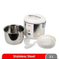 COSMOS CRJ-9301.Magic Com Rice Cooker Body & Panci Stainless. Baru