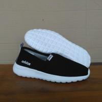 sepatu adidas neo cloudfoam hitam sepatu slip on wanita