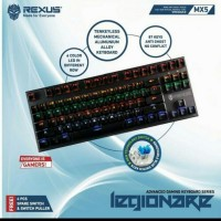 Keyboard gaming Rexus MX5 RGB Mechanical (Blue Switch)