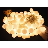 Lampu Tumblr Hias Bulat Bola LED 6m Lampu Anggur Natal
