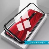 Case Magnetic Xiaomi Redmi 8 Cas Magnet Metal Aluminium Cover