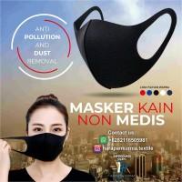 Masker Kain Scuba PREMIUM Non Medis by HKTI - 5 Warna Pilihan