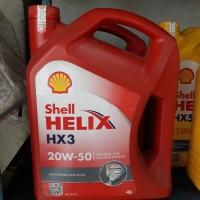 OLI SHELL HELIX HX3 20W-50(4LITER)