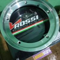 Velg Tublles Vespa 2 Tak V Rossi R10 + Ban Maxxis Tubles R1.