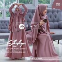 Baju Gamis Anak Set Hijab dan Cadar Shofiya Kids Syari ORIGINAL HAMIZ