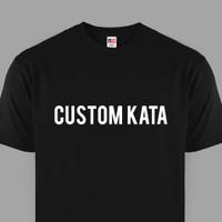 Custom Kaos Design Tulisan 1 Warna / Kaos Kata / Sablon Baju