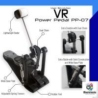 Single Bass Drum Pedal Viper Revolution VR PP07 Power Pedal Dual Chain