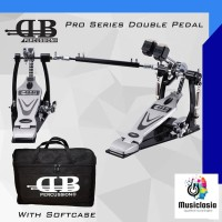Double Pedal DB Percussion Dual Chain