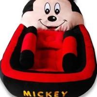 Kasur Bayi Lucu Karakter Mickey Mouse Merah Majujaya748