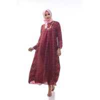 Sikka by Aisaa - Gamis - Maroon