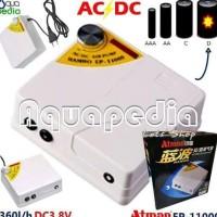 Atman Ep-11000 Pompa Ac/Dc Portable Air Pump Mawarstore36