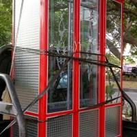 Lemari Pakaian Dari Aluminium 3 Pintu - Putih Pratamadio332