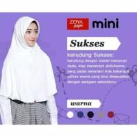 Kerudung Jilbab Bergo Sekolah Zoya Sukses MINI - Putih