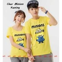Kaos Couple Lucu   Toko Baju Kembaran   Char Minion