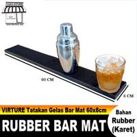 Muranee Rubber Bar Service Spill Mat Bar Mat Tatakan Gelas 60x8 cm