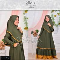 Gamis Anak Syari Khimar Baju Wanita Fashion Muslim Gamis Btary Kid