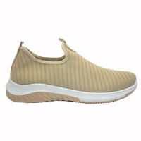 Dr. Kevin Sepatu Sport Sneakers Wanita Tanpa Tali 589-027 Coffee - Coffee, 41