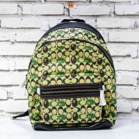 BAPE (LIMITED EXCLUSIVE) x COACH Backpack Green (Large)