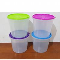 (1lusin) Toples Plastik bulat 5 Liter Polos