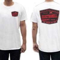 T Shirt Kaos Baju Atasan Pria Casual Terbaru Keren Distro Electrohell