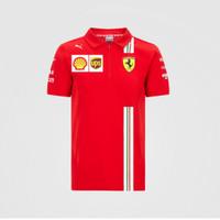 Polo Shirt Scuderia Ferrari Team Official Merchandise F1 2020