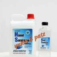 Hand Sanitizer Refill HS Spray 2L Liter Murah