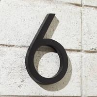sign nomor rumah kamar kos apartemen hotel number tempel angka laser