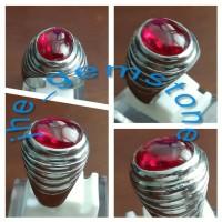 Red Siam (JHEM-105, bacan, kalimaya, aceh, topaz, ruby, obi, sapphire)