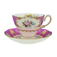 Royal Albert SET Lady Carlyle -Tea Cup & Tea Saucer