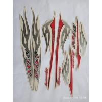 stiker striping yamaha mio sporty 2006 putih