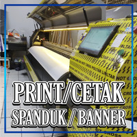 PRINT/ CETAK SPANDUK BANNER | BAHAN FLEXI CINA