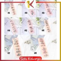 SK-C14 6PCS Jepit Rambut Model Pita Kartun Aksesoris Rambut untuk Bayi