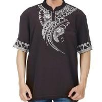 Baju Koko Pria Inficlo EXo Warna Coklat Bahan Kelly (SDR 668)