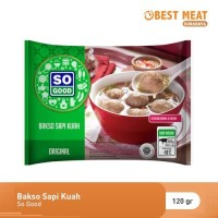 Bakso Sapi Kuah Halal So Good 120 gr