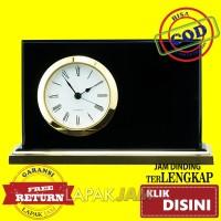 Jam Dinding Jam Meja REF.022-60 Polos Diameter 13 x 9 cm Best Seller